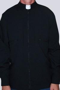 Bluza czarna B - gabardyna