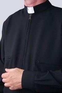 Bluza czarna B - gabardyna...
