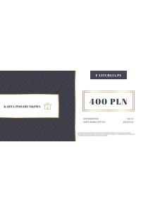 Karta podarunkowa 400zł