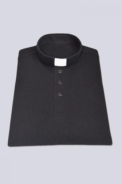 Koszulka Polo: czarna [KUS]