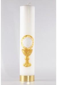 Komunia - świeca ołtarzowa duża [K5]