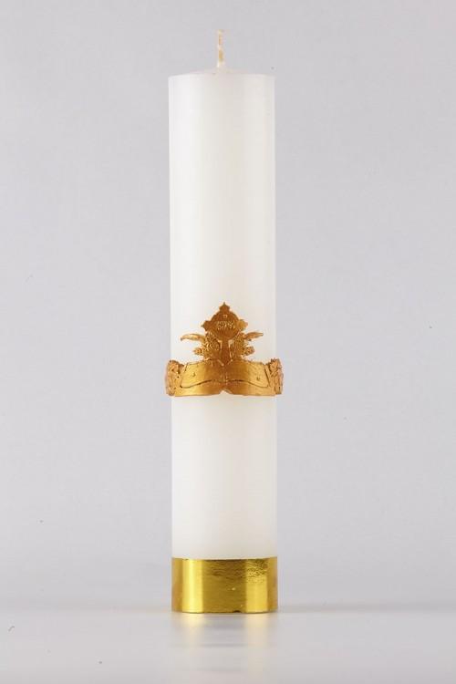 Komunia - świeca ołtarzowa,...