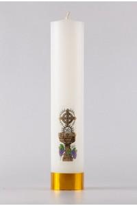 Komunia - świeca ołtarzowa, średnia [K1]