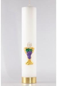 Komunia - świeca ołtarzowa duża [K2]