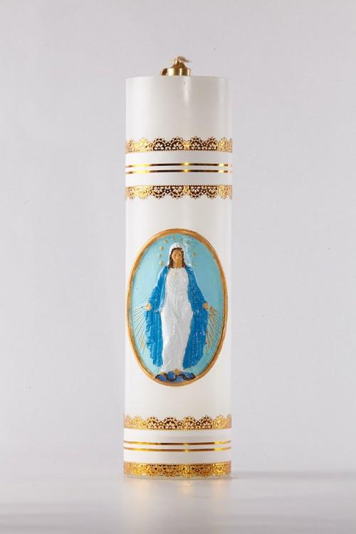 Świeca olejowa - Matka Boża...
