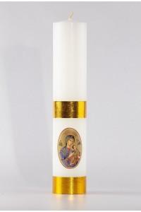 Świeca ołtarzowa - Matka Boska Nieustającej Pomocy, mała...
