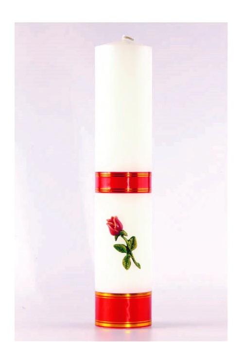 Świeca ołtarzowa - Róża...