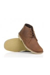 Męskie skórzane buty Chukka...
