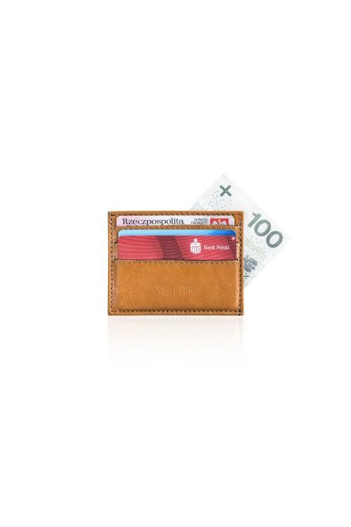Skórzany portfel wizytownik...