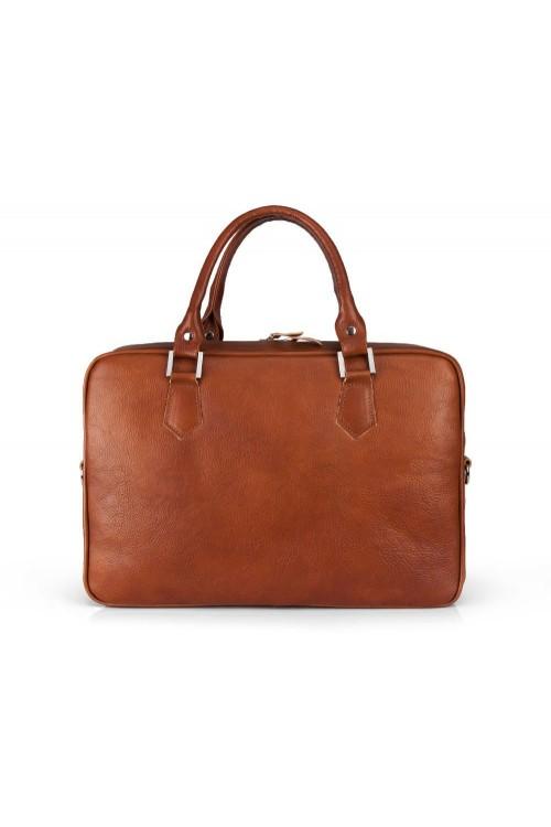 Skórzana torba na laptopa...
