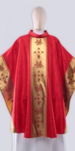 Ornaty Czerwone ze zdobieniem - Ornaty liturgiczne - E-liturgia.pl