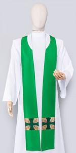 Stuły Zielone - Stuły kapłańskie - E-liturgia.pl