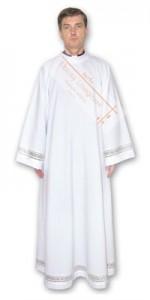 Alby z dekoracją dla księży - Alby dla księży - E-liturgia.pl