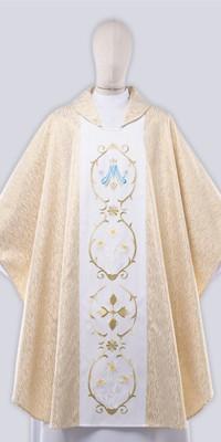 Ornaty Maryjne z haftem